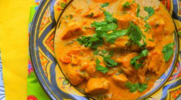 Curry de poulet indien (chicken handi)
