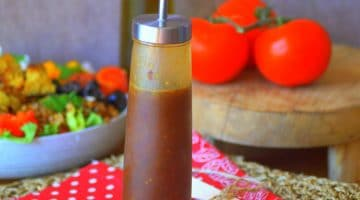 Vinaigrette balsamique miel moutarde
